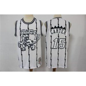 Toronto Raptors Vince Carter White  Jersey